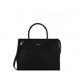 Furla Pin Satchel - Onyx