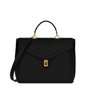 Furla Tortuna Top Handle - Onyx