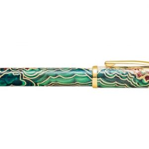 Cross - Wanderlust Borneo Ballpoint Pen with Gold Plate
