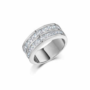 Buckley London - Ice Cube Collection Ring